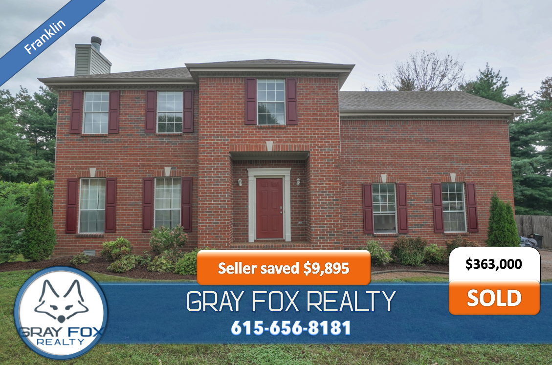 107 Golden Meadow Ln Franklin TN 37067 Sold by Gray Fox Realty
