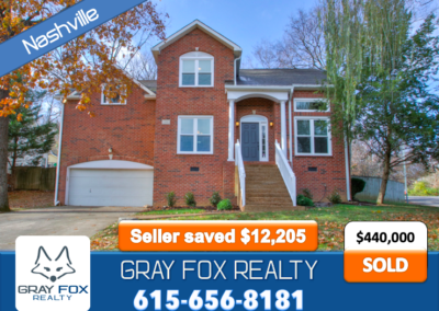 1100 Elmshade Court, Nashville TN 37211 SOLD by Gray Fox Realty